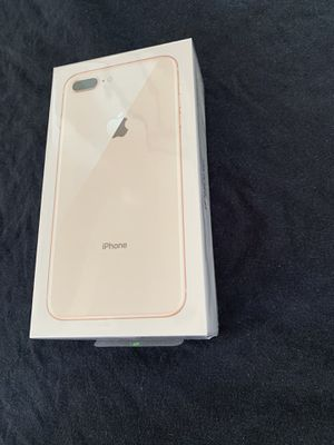 apple iPhone 8 Plus Gold 128GB brand new sealed new case and glass screen protector and same day I do deliver and meet up 👌 for Sale in Fremont, CA