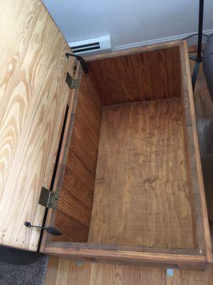 Cedar wood blanket storage box for Sale in Duxbury, MA