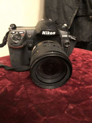Nikon D200 digital camera with charger battery lens cap case $500 OBO for Sale in Los Angeles, CA