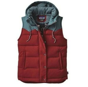 Mushroom Patagonia Bivy Vest Ox Red for Sale in Corryton, TN