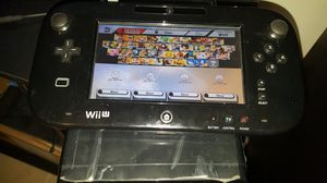 Wii U black console with games for Sale in City of Industry, CA