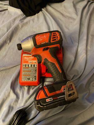 Milwaukee impact drill for Sale in Escondido, CA