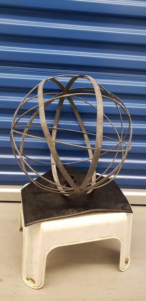 """16"""" Metal Sphere for Sale in Washington, DC"""