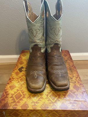 Brown square toe boots for Sale in Aurora, CO
