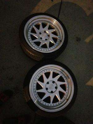 18 inch esr wheels for Sale in Garden Grove, CA