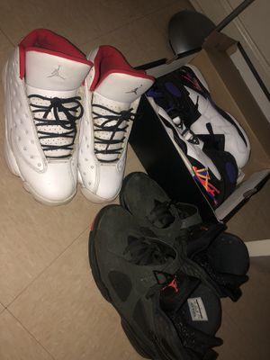 SIZE 8.5! Jordan 13, and 8's for Sale in Alexandria, VA