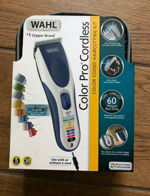 New . wah cordless Wahl hair clipper for Sale in Revere, MA