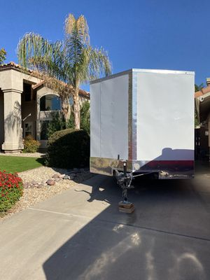 Enclosed V trailer 8.5 X 20 for Sale in Chandler, AZ