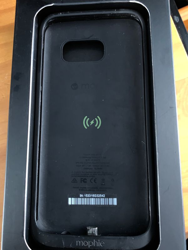 Samsung s7 edge mophie charging case