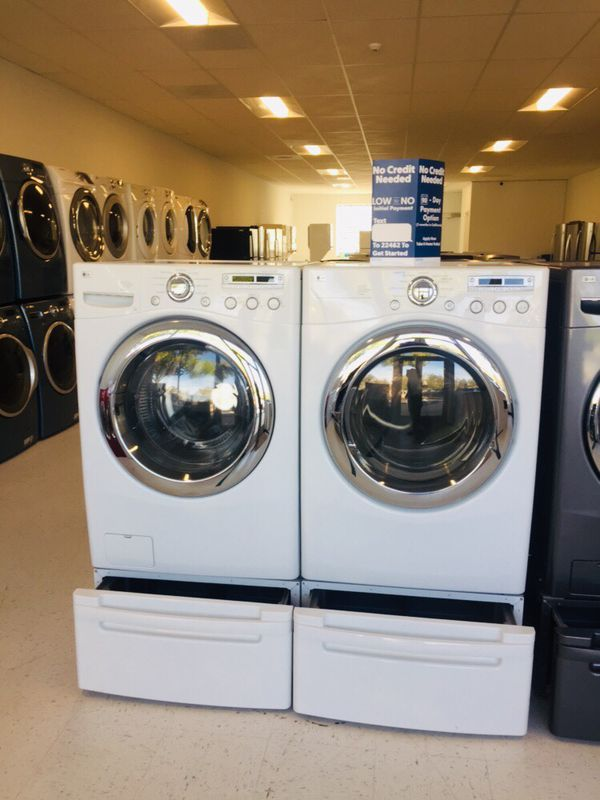 🔥🔥LG washer and electric dryer set in excellent condition 90 days warranty 🔥🔥