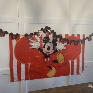 Mickey Mouse party Decorations for Sale in Boynton Beach, FL