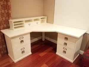 Pottery Barn Bedford Corner Desk White for Sale in Chula Vista, CA