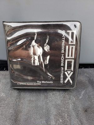 P90X Extreme Home Fitness Workout 12 DVD Program for Sale in La Porte, TX
