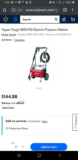 Pressure washer for Sale in Fremont, CA