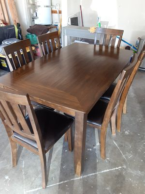 6 piece set dining table for Sale in Citrus Heights, CA