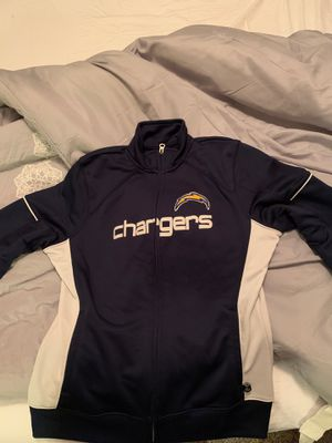Chargers zip up jacket for Sale in National City, CA