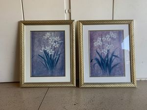 Decorative Floral Picture Set for Sale in Corona, CA