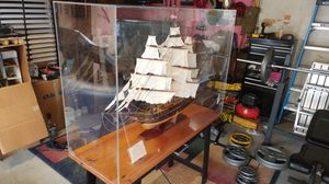 Massive handmade USS Constitution for Sale in Poway, CA