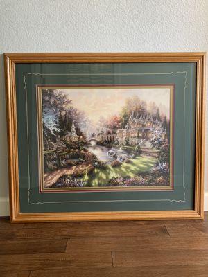 """Thomas Kincaid look alike art decor 41 1/2""""x 35 1/2"""" for Sale in Sun City, AZ"""