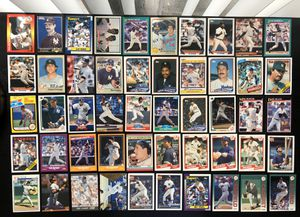 NY New York Yankees MLB Baseball Card Lot 100 cards Jeter Mattingly Williams Ruth Mantle Rookies for Sale in Tampa, FL