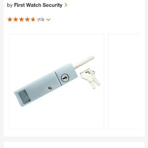 Keyed Patio Door Security Locks for Sale in Bakersfield, CA