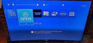 Ps4 black with 2 wireless controllers and game's for Sale in Atlanta, GA
