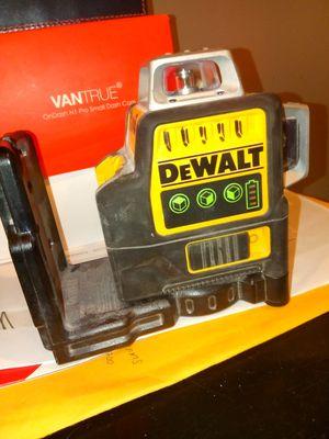Dewalt 3line laser for Sale in Fort Washington, MD