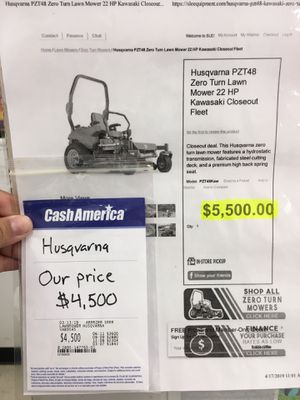 Husqvarna lawn mower for Sale in Winter Haven, FL