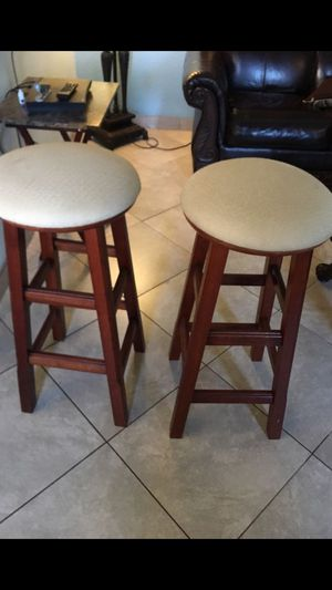 Stools are very good condition nothing wrong with it for both $45 for Sale in Tempe, AZ