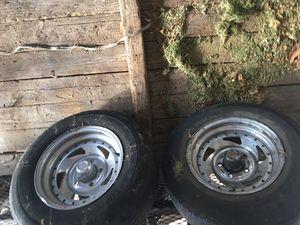 tires for trailer/llantas para traila for Sale in Dallas, TX