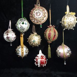 Vintage Beaded Christmas Tree Ornaments for Sale in Clarksburg, WV