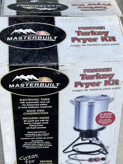 Masterbuilt Propane Turkey Fryer Kit NEW for Sale in Gates Mills,  OH