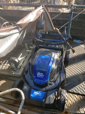Kobalt 21-in Cordless Electric Lawn Mower for Sale in Oakland, CA