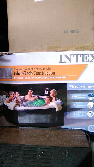 Intex portable hot tub for Sale in Kissimmee, FL