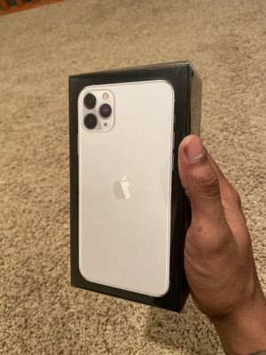 iPhone 11 Pro Max 512GB (Silver) Brand New In The Box!!! for Sale in Cleveland, OH