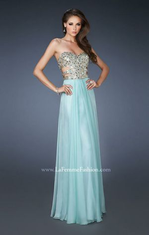 La Femme sequins seafoam dress #18602 for Sale in Santa Susana, CA
