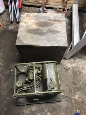 WW1 generator motor mint condition ORIGINAL PAINT! for Sale in Lowell, MA
