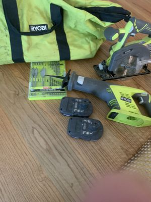 Ryobi Saws with Batteries for Sale in Escondido, CA