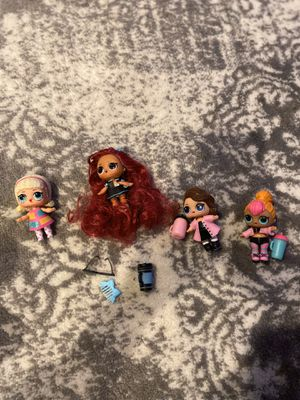 4 LOL dolls for Sale in Wenatchee, WA
