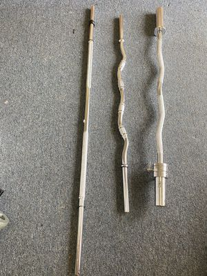 Brand new curl bars for Sale in Wallingford, CT