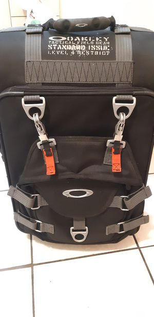 Oakley tactical gear rolling luggage for Sale in Fort Lauderdale, FL