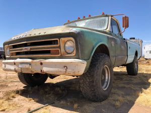 Rare 1967 Chevy K-10 big back window factory 4x4 Runs Drives Rebuilt for Sale in Sun City West, AZ