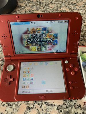 Red Nintendo 3DS with games for Sale in Medford, MA
