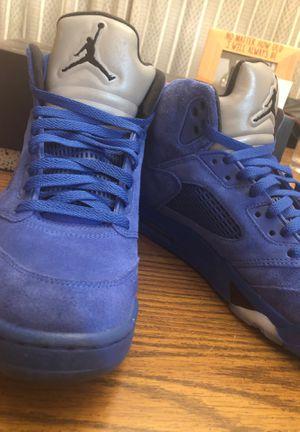 Jordan Retro Blue Suede for Sale in Buffalo, NY