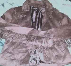BLACK FRINGE JACKET for Sale in MIDDLE CITY EAST, PA