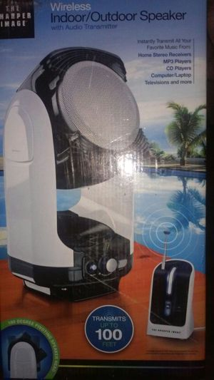 Speaker and audio transmitter for Sale in Detroit, MI
