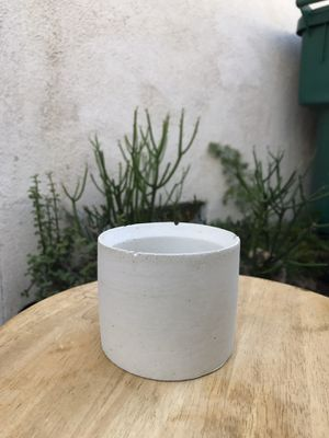"Succulent pot (concrete), 3.75""(w) x 3.0""(h). for Sale in Santa Ana, CA"