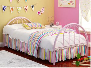 Twin size only bed frame no mattress included for Sale in Dallas, TX