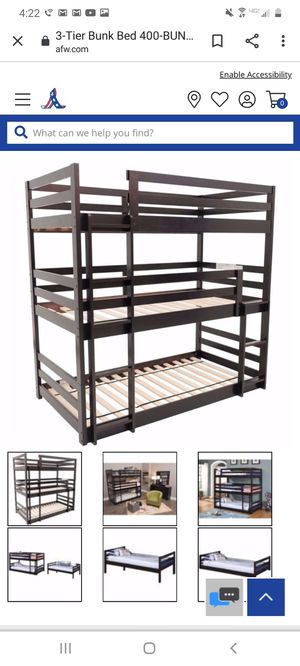 Triple bunk beds for Sale in Brighton, CO