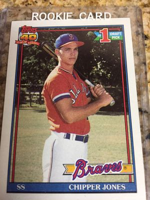 Baseball cards , 17 Chipper Jones Rookie cards $22 for Sale in Torrance, CA
